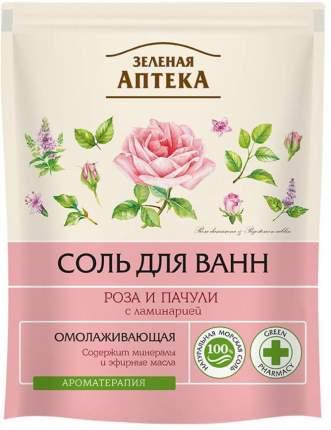 """Соль для ванн Зеленая аптека """"Роза и пачули"""" 500 г"""