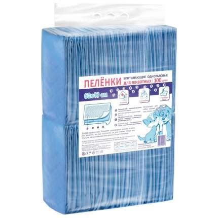 Пеленки для домашних животных Petmil одноразовые 40х60 см 100 штук