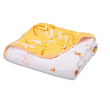 Муслиновое одеяло Qwhimsy Красная книга QBL003, 112х112 см