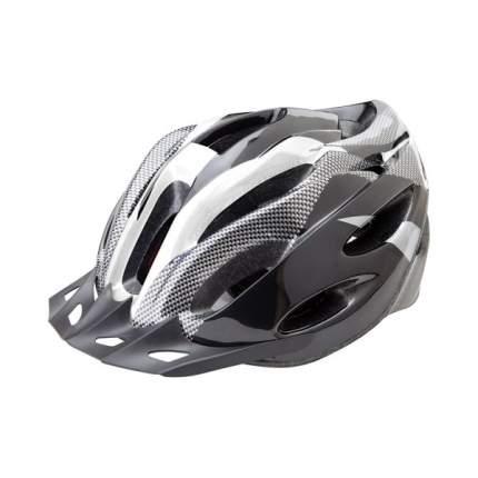 Велосипедный шлем Stels FSD-HL021 Out-Mold, черно-белый, L