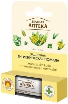 Защитная гигиеническая помада Зеленая аптека с маслом жожоба, 3,6 г