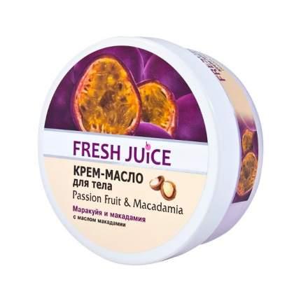 Сахарный скраб для тела Passion Fruit & Macadamia Fresh Juice, 225 мл