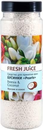 Средство для ванн Freesia & Coconut Fresh Juice, 450 г