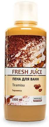 Пена для ванн Tiramisu Fresh Juice, 1000 мл