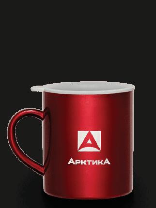 Термокружка невакуумная тм «Арктика», 450 мл, арт. 802-450 (красная)