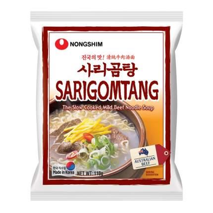 Лапша быстрого приготовления Саригомтанг Nongshim, пачка 110 г