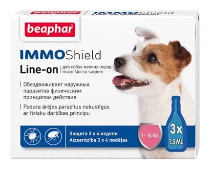 Капли для мелких собак против паразитов Beaphar IMMO Shield, 3 пипетки, 1,5 мл