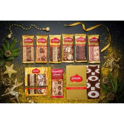 Конфеты шоколадные Золотая  Марка с карамелью и арахисом 184 г