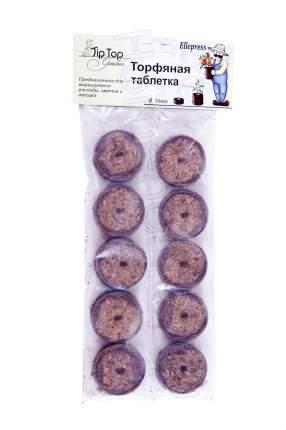 Торфяные таблетки TipTop Ellepress, диаметр 36 мм, 10 шт, 3548