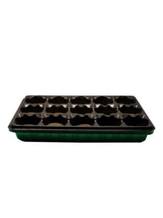 Кассета для рассады Экоторф 183861 Умный огород с торфяными таблетками 15 ячеек по 55 мм