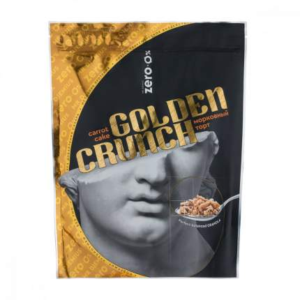 Гранола MR. DJEMIUS Zero «Golden Crunch» морковный торт (350 грамм)