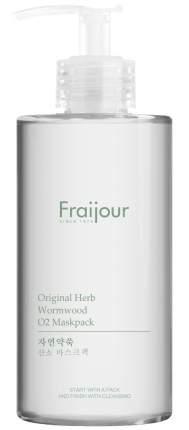 Маска для лица EVAS Fraijour кислородная Original herb wormwood O2 Maskpack, 300 мл