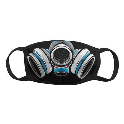 """Многоразовая защитная маска Kawaii Factory KW079-000162 """"Супер-защита"""" черная 1 шт."""