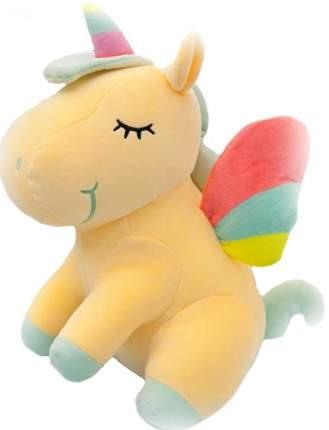 Мягкая игрушка CoolToys Единорог желтый, 23 см