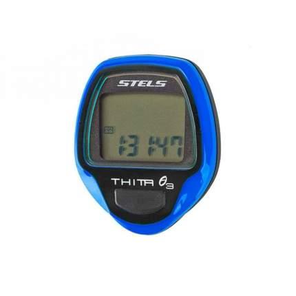 Велокомпьютер Thita-3,10 функций, Синий