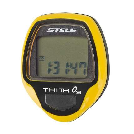 Велокомпьютер Stels Thita-3 yellow