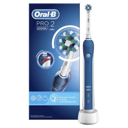 Электрическая зубная щетка Braun Oral-B Pro 2000 (D20.523.2M) Cross Action