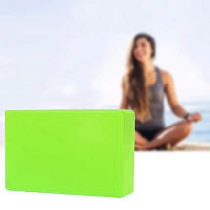 Блок для йоги Atlanterra AT-YB-01, зеленый