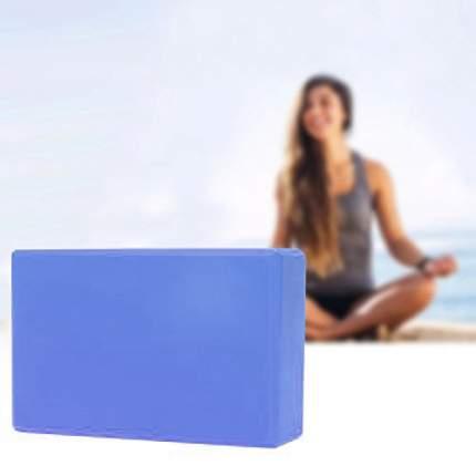 Блок для йоги Atlanterra AT-YB-04, синий