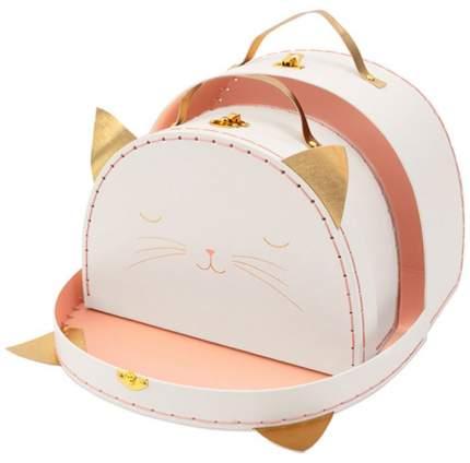 Набор чемоданов Meri Meri Кошка, 2 шт.
