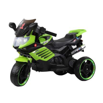 Электромотоцикл трехколесный City-ride CR052GR черный/зеленый