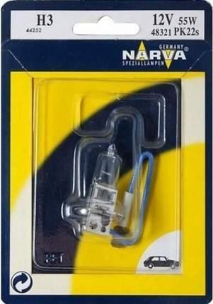 Лампа автомобильная Narva H3 12V-55W (PK22s) (1шт.) 48321