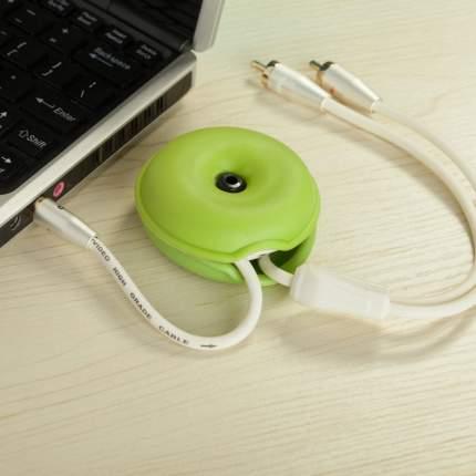Катушка-фиксатор для кабеля Espada EK11 Green
