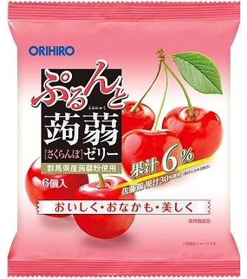 Желе Orihiro конняку вишня порционное 120 г