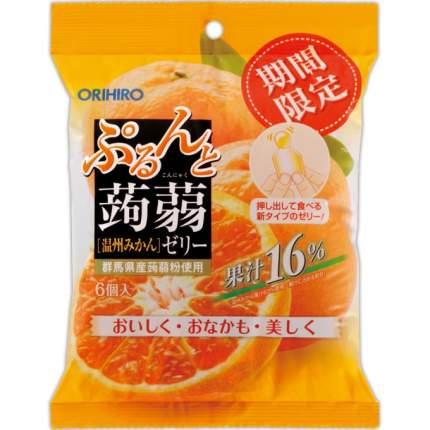 Желе Orihiro конняку мандарин порционное 120 г