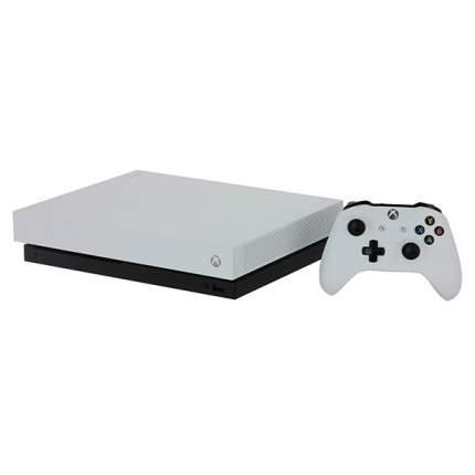 Игровая приставка Microsoft Xbox One X White 1Tb + Игра Fallout 76
