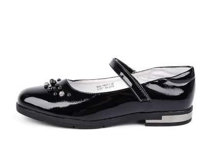 Туфли для девочек BERTEN MXG_778257-7_black цв. черный р.35