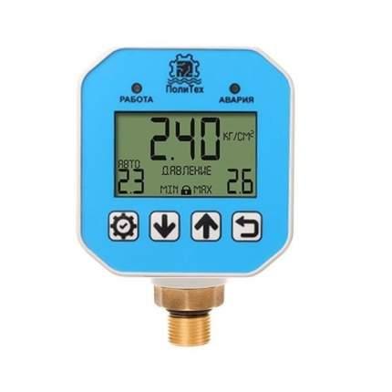 Контроллер давления Политех, расширенный резьба 1/2 с силовым кабелем давление до 1МПа