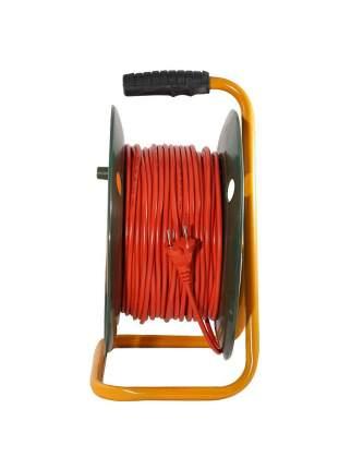 Удлинитель силовой на катушке Glanzen ЕВ-50-001 1300 Вт 50 м