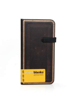 Алфавитная книга Paperblanks Black Moroccan Slim
