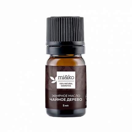 """Эфирное масло """"Чайное дерево"""", organic Mi&Ko 5 мл"""