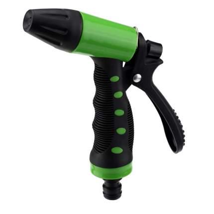 Пистолет для полива Silo, 4х14х21см, с регулятором напора воды, пластик