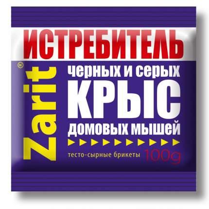 """Приманка Летто Zarit """"ТриКота"""" от грызунов, сырный, 10 тесто-брикетов, 100г, А-5044"""