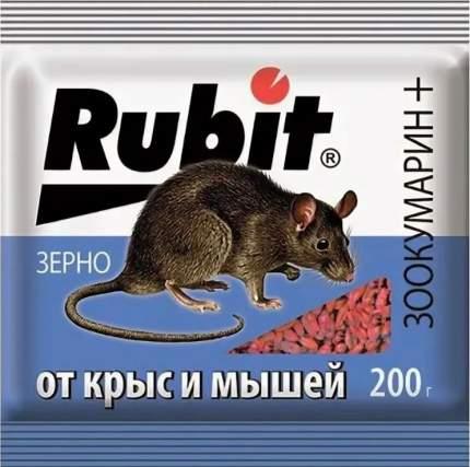 Приманка Летто Rubit от грызунов, зерно, пакет 200г, А-5041