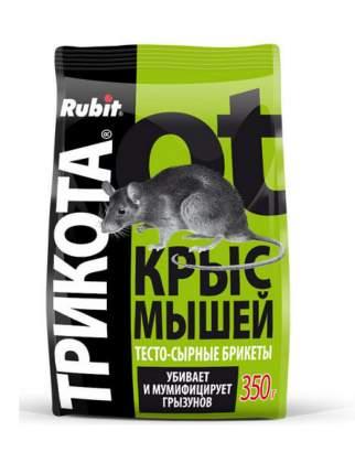 """Приманка Летто Rubit """"ТриКота"""" от грызунов, сырный, тесто-брикеты, 350г, А-5153"""