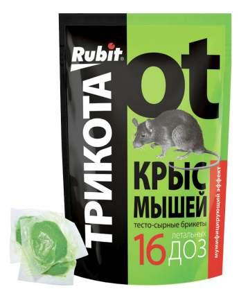 """Приманка Летто Rubit """"ТриКота"""" от грызунов, 16 сырных тесто-брикетов, 150г, А-5020"""
