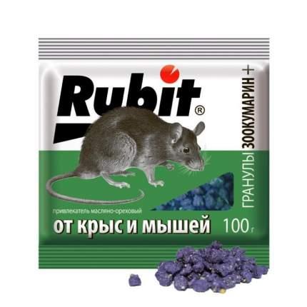 "Приманка Летто Rubit ""Зоокумарин+"", от грызунов, гранулы, аромат ореха, пакет 100г, А-5029"