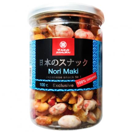 Крекеры Тако Самурай Нори Маки японские рисовые 100 г