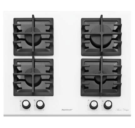 Встраиваемая газовая панель Rainford RBН 4654 BF White