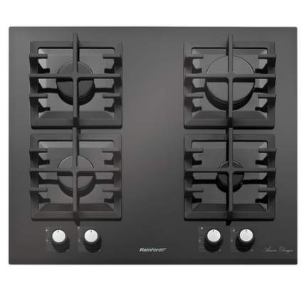 Встраиваемая газовая панель Rainford RBН 4654 BF Black