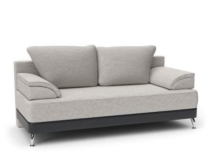 Диван-кровать Шарм-Дизайн ЕвроШарм серый с черным