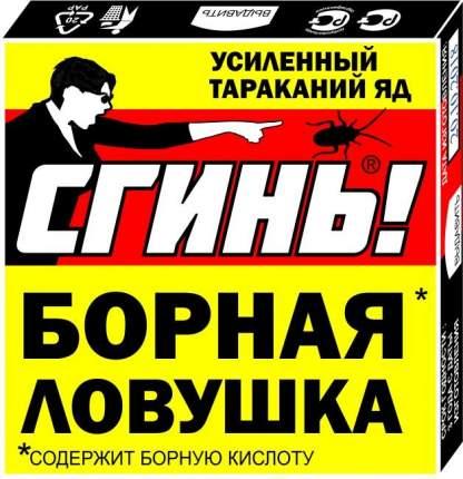 "Ловушка для тараканов Дохлокс ""СГИНЬ!"", борная, картон + приманка, 18012"