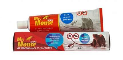 Клей Mr. Mouse от грызунов и насекомых туба 60 гр, арт. MR-6012