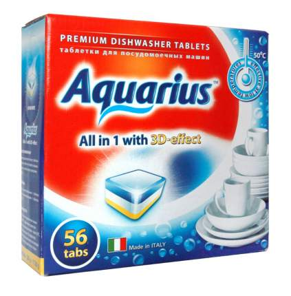 Таблетки Aquarius All in 1 mega 56 штук