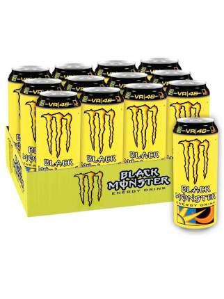Энергетический напиток Black Monster VR46 Doctor 12 шт 449 мл