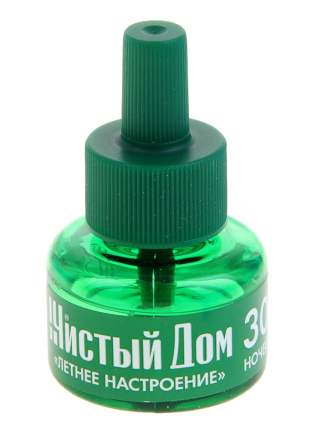 """Жидкость Чистый дом """"Летнее настроение"""" от комаров, 30мл, 02-622"""
